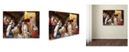 "Trademark Global The Macneil Studio 'Nativity' Canvas Art - 19"" x 14"" x 2"""