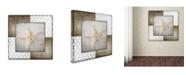 "Trademark Global lightbox Journal 'Vintage Nautical Star 2' Canvas Art - 18"" x 18"" x 2"""