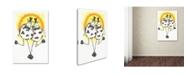 "Trademark Global Michelle Campbell 'Bring Me Sunshine' Canvas Art - 32"" x 22"" x 2"""