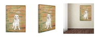 "Trademark Global Tammy Kushnir 'Best Friend 2' Canvas Art - 32"" x 24"" x 2"""