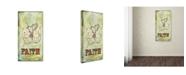 "Trademark Global Tammy Kushnir 'Faith' Canvas Art - 47"" x 24"" x 2"""