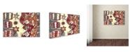 """Trademark Global Miguel Balbas 'Summer III' Canvas Art - 19"""" x 12"""" x 2"""""""