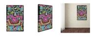 "Trademark Global Miguel Balbas 'Circuits X B' Canvas Art - 32"" x 22"" x 2"""