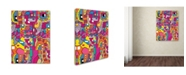 """Trademark Global Miguel Balbas 'Collage I' Canvas Art - 47"""" x 35"""" x 2"""""""