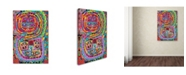 "Trademark Global Miguel Balbas 'Mandala 1' Canvas Art - 32"" x 22"" x 2"""