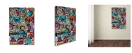 "Trademark Global Miguel Balbas 'Abstract II' Canvas Art - 24"" x 16"" x 2"""