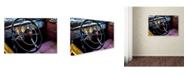 "Trademark Global The Lieberman Collection 'Steering Wheel' Canvas Art - 32"" x 22"" x 2"""