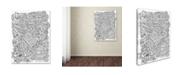 "Trademark Global Jessica Putnam 'Floral 36' Canvas Art - 32"" x 24"" x 2"""