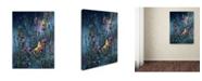 "Trademark Global Wanda Mumm 'Wings Of Gold' Canvas Art - 19"" x 14"" x 2"""