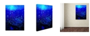 "Trademark Global MusicDreamerArt 'Underwater' Canvas Art - 19"" x 14"" x 2"""