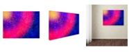"Trademark Global MusicDreamerArt 'Rainbow On Steroids' Canvas Art - 19"" x 14"" x 2"""