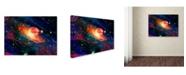 """Trademark Global MusicDreamerArt 'Inside The Star Factory' Canvas Art - 24"""" x 18"""" x 2"""""""