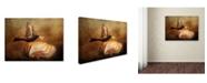 "Trademark Global Jai Johnson 'The Bread Thief' Canvas Art - 19"" x 14"" x 2"""