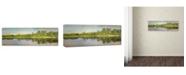 "Trademark Global Jai Johnson 'Tennessee River Reflections' Canvas Art - 24"" x 8"" x 2"""