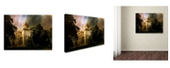"Trademark Global Jai Johnson 'Tupelo Mississippi Courthouse' Canvas Art - 24"" x 18"" x 2"""
