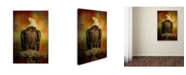 "Trademark Global Jai Johnson 'The Bald Eagle In Autumn' Canvas Art - 24"" x 16"" x 2"""