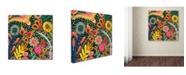 "Trademark Global Sylvie Demers 'Depuis L'aurore Ii' Canvas Art - 18"" x 18"" x 2"""