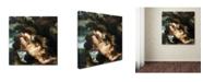 "Trademark Global Peter Paul Rubens 'Prometheus Bound' Canvas Art - 35"" x 35"" x 2"""