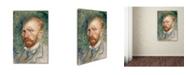 "Trademark Global Van Gogh 'Selfportrait 4' Canvas Art - 24"" x 16"" x 2"""