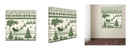 """Trademark Global Jean Plout 'Christmas Folklore 3' Canvas Art - 24"""" x 24"""" x 2"""""""