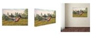 "Trademark Global Jean Plout 'Wilderness Lodge 15' Canvas Art - 19"" x 12"" x 2"""