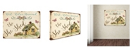 """Trademark Global Jean Plout 'The She Shed 2' Canvas Art - 24"""" x 18"""" x 2"""""""