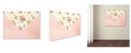 "Trademark Global Jean Plout 'Envelope 10' Canvas Art - 19"" x 14"" x 2"""
