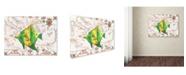 "Trademark Global Jean Plout 'Nautical Treasures 16' Canvas Art - 24"" x 18"" x 2"""