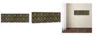 "Trademark Global Jean Plout 'Queen Bee 10' Canvas Art - 24"" x 8"" x 2"""