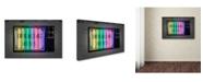 "Trademark Innovations Octavian Mielu 'Breaking news' Canvas Art - 24"" x 16"" x 2"""