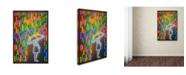 "Trademark Innovations Octavian Mielu 'Rain' Canvas Art - 47"" x 30"" x 2"""