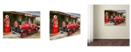 "Trademark Global Mike Jones Photo 'Rt 66 Joplin' Canvas Art - 19"" x 14"" x 2"""