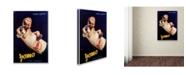 "Trademark Global Vintage Apple Collection 'Ogni' Canvas Art - 47"" x 30"" x 2"""