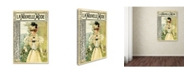 "Trademark Global Vintage Lavoie 'Mag 4' Canvas Art - 24"" x 16"" x 2"""