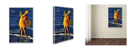 "Trademark Global Vintage Lavoie 'Travel 45' Canvas Art - 47"" x 30"" x 2"""