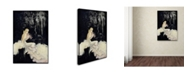 "Trademark Global Vintage Lavoie 'Deco 3' Canvas Art - 32"" x 22"" x 2"""