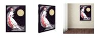 "Trademark Global Vintage Lavoie 'Moon Fairy Canvas 2A' Canvas Art - 32"" x 24"" x 2"""
