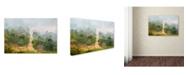 "Trademark Global Robert Harding Picture Library 'Dirt Path' Canvas Art - 24"" x 16"" x 2"""