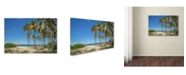 "Trademark Global Robert Harding Picture Library 'Palm Trees' Canvas Art - 24"" x 16"" x 2"""