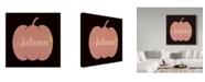 "Trademark Global Summer Tali Hilty 'Autumn' Canvas Art - 14"" x 14"" x 2"""