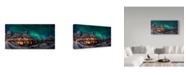 "Trademark Global Javier De La 'Gangway Borealis' Canvas Art - 24"" x 2"" x 12"""