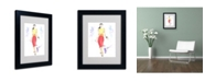 "Trademark Global Jennifer Lilya 'Taste the Rainbow' Matted Framed Art - 14"" x 11"" x 0.5"""
