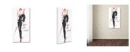 "Trademark Global Jennifer Lilya 'Well Armed' Canvas Art - 12"" x 24"" x 2"""