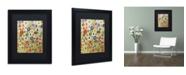 "Trademark Global Sylvie Demers 'Permanence' Matted Framed Art - 16"" x 20"" x 0.5"""