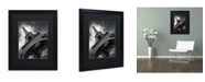 "Trademark Global Moises Levy 'Eiffel Tower Study II' Matted Framed Art - 16"" x 20"" x 0.5"""