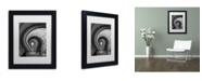 """Trademark Global Moises Levy 'I Have An Idea' Matted Framed Art - 11"""" x 14"""" x 0.5"""""""