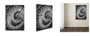 "Trademark Global Moises Levy 'Astronomic Watch Prague 11' Canvas Art - 24"" x 18"" x 2"""