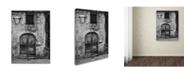 "Trademark Global Moises Levy 'San Gimignano Door' Canvas Art - 47"" x 35"" x 2"""