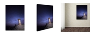 "Trademark Global Moises Levy 'Starry Night in Arizona I' Canvas Art - 47"" x 35"" x 2"""
