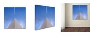 "Trademark Global Nadav Jonas 'Up And Down' Canvas Art - 35"" x 35"" x 2"""